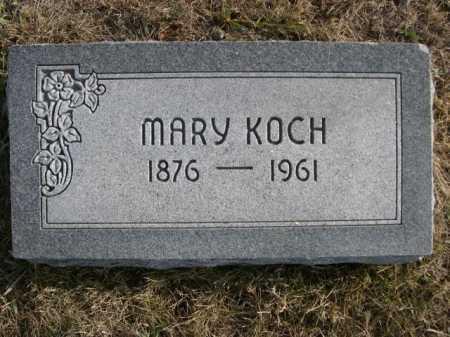 KOCH, MARY - Douglas County, Nebraska | MARY KOCH - Nebraska Gravestone Photos