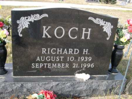 KOCH, RICHARD H. - Douglas County, Nebraska | RICHARD H. KOCH - Nebraska Gravestone Photos
