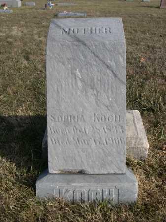 KOCH, SOPHIA - Douglas County, Nebraska   SOPHIA KOCH - Nebraska Gravestone Photos