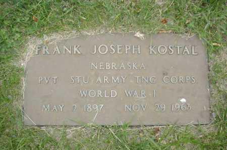 KOSTAL, FRANK JOSEPH - Douglas County, Nebraska   FRANK JOSEPH KOSTAL - Nebraska Gravestone Photos
