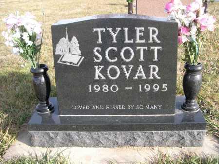 KOVAR, TYLER SCOTT - Douglas County, Nebraska | TYLER SCOTT KOVAR - Nebraska Gravestone Photos