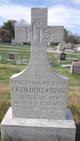 KOZIOL, KAZIMIERZ - Douglas County, Nebraska | KAZIMIERZ KOZIOL - Nebraska Gravestone Photos
