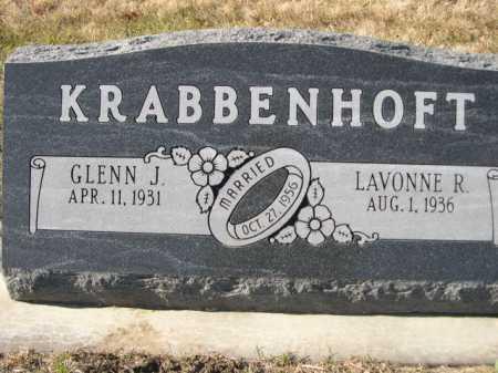 KRABBENHOFT, GLENN J. - Douglas County, Nebraska | GLENN J. KRABBENHOFT - Nebraska Gravestone Photos