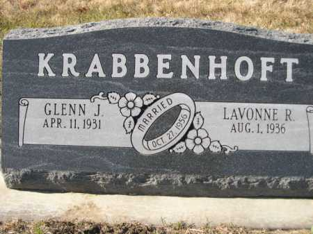 KRABBENHOFT, LAVONNE R. - Douglas County, Nebraska | LAVONNE R. KRABBENHOFT - Nebraska Gravestone Photos