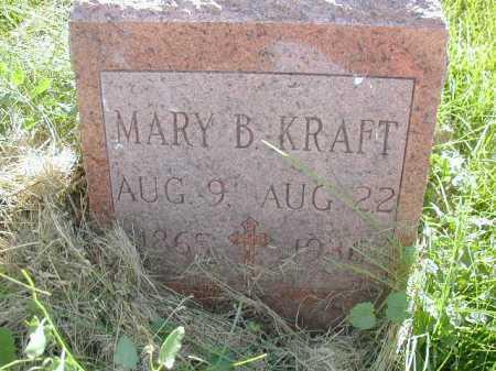 KRAFT, MARY B - Douglas County, Nebraska | MARY B KRAFT - Nebraska Gravestone Photos