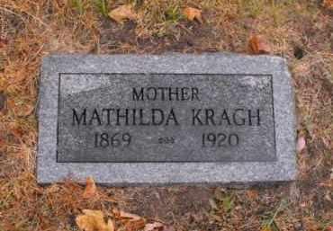 KRAGH, MATHILDA - Douglas County, Nebraska   MATHILDA KRAGH - Nebraska Gravestone Photos