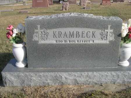 KRAMBECK, FAMILY - Douglas County, Nebraska | FAMILY KRAMBECK - Nebraska Gravestone Photos