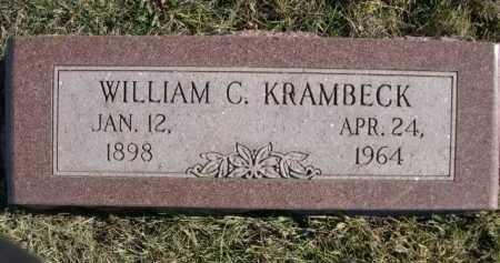 KRAMBECK, WILLIAM C. - Douglas County, Nebraska | WILLIAM C. KRAMBECK - Nebraska Gravestone Photos