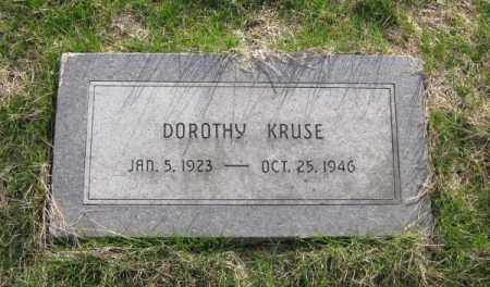 KRUSE, DOROTHY - Douglas County, Nebraska | DOROTHY KRUSE - Nebraska Gravestone Photos