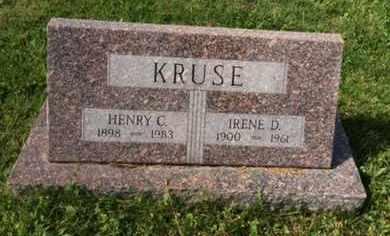 KRUSE, HENRY C. - Douglas County, Nebraska | HENRY C. KRUSE - Nebraska Gravestone Photos