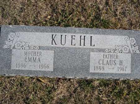 KUEHL, EMMA - Douglas County, Nebraska | EMMA KUEHL - Nebraska Gravestone Photos