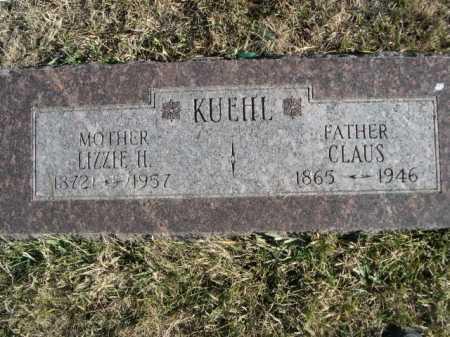 KUEHL, LIZZIE H. - Douglas County, Nebraska | LIZZIE H. KUEHL - Nebraska Gravestone Photos