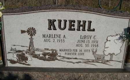 KUEHL, LEROY C. - Douglas County, Nebraska | LEROY C. KUEHL - Nebraska Gravestone Photos