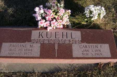 KUEHL, PAULINE M. - Douglas County, Nebraska | PAULINE M. KUEHL - Nebraska Gravestone Photos