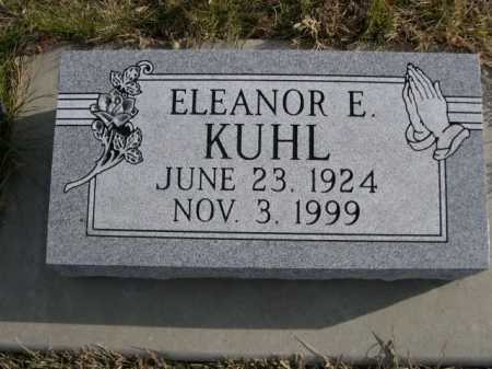 KUHL, ELEANOR E. - Douglas County, Nebraska | ELEANOR E. KUHL - Nebraska Gravestone Photos