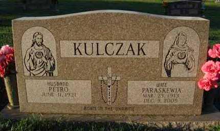 KULCZAK, PARASKEWIA - Douglas County, Nebraska | PARASKEWIA KULCZAK - Nebraska Gravestone Photos