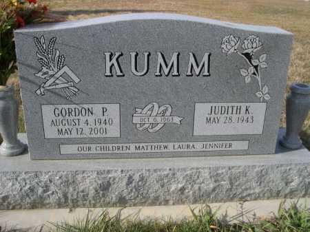 KUMM, JUDITH K. - Douglas County, Nebraska | JUDITH K. KUMM - Nebraska Gravestone Photos