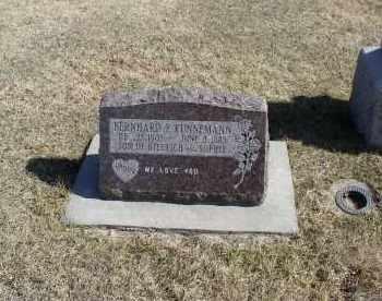 KUNNEMAN, BERNARD - Douglas County, Nebraska   BERNARD KUNNEMAN - Nebraska Gravestone Photos