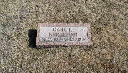 KUNNEMAN, CARL L. - Douglas County, Nebraska | CARL L. KUNNEMAN - Nebraska Gravestone Photos