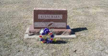 KUNNEMANN, JOHN H. - Douglas County, Nebraska | JOHN H. KUNNEMANN - Nebraska Gravestone Photos