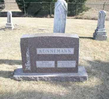 KUNNEMANN, JOHANN DIETRICH - Douglas County, Nebraska | JOHANN DIETRICH KUNNEMANN - Nebraska Gravestone Photos