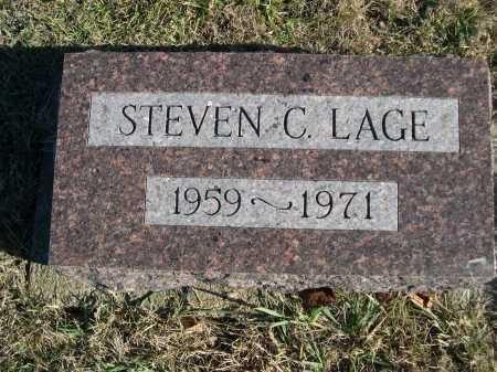 LAGE, STEVEN C. - Douglas County, Nebraska | STEVEN C. LAGE - Nebraska Gravestone Photos