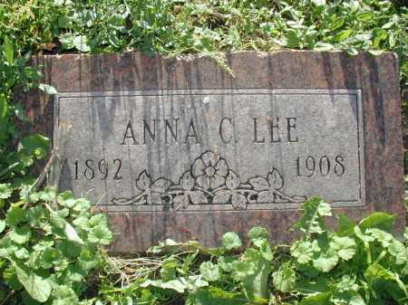 LEE, ANNA C - Douglas County, Nebraska | ANNA C LEE - Nebraska Gravestone Photos