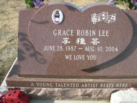 LEE, GRACE ROBIN - Douglas County, Nebraska   GRACE ROBIN LEE - Nebraska Gravestone Photos