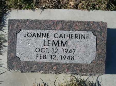 LEMM, JOANNE CATHERINE - Douglas County, Nebraska | JOANNE CATHERINE LEMM - Nebraska Gravestone Photos