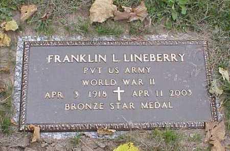 "LINEBERRY, FRANKLIN LEROY ""ROY"" - Douglas County, Nebraska   FRANKLIN LEROY ""ROY"" LINEBERRY - Nebraska Gravestone Photos"