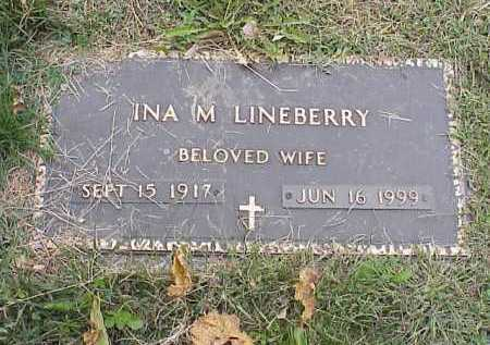 MAGUIRE LINEBERRY, INA MARIE - Douglas County, Nebraska | INA MARIE MAGUIRE LINEBERRY - Nebraska Gravestone Photos
