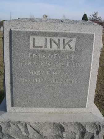 LINK, DR. HARVEY - Douglas County, Nebraska | DR. HARVEY LINK - Nebraska Gravestone Photos