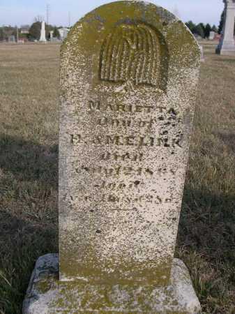 LINK, MARIETTA - Douglas County, Nebraska | MARIETTA LINK - Nebraska Gravestone Photos