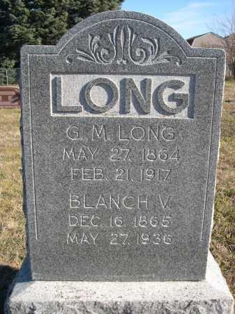LONG, BLANCH V. - Douglas County, Nebraska | BLANCH V. LONG - Nebraska Gravestone Photos