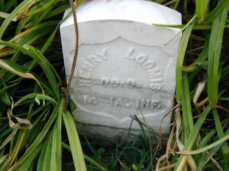 LOOMIS, HENRY - Douglas County, Nebraska | HENRY LOOMIS - Nebraska Gravestone Photos