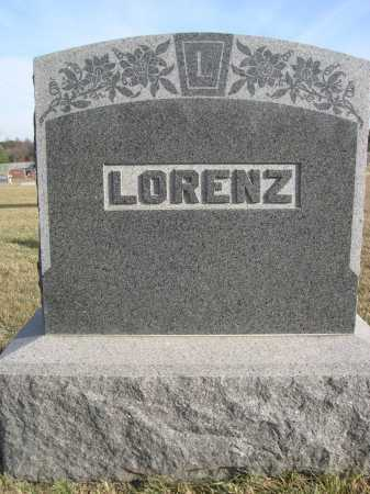 LORENZ, FAMILY - Douglas County, Nebraska | FAMILY LORENZ - Nebraska Gravestone Photos