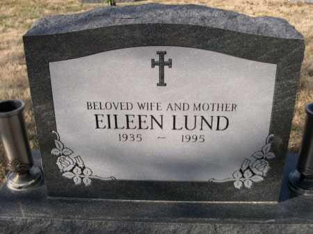 LUND, EILEEN - Douglas County, Nebraska   EILEEN LUND - Nebraska Gravestone Photos