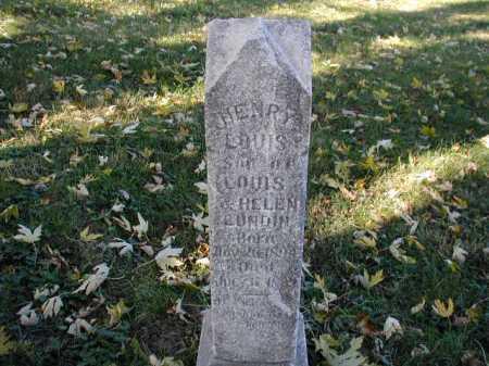LUNDIN, HENRY LOUIS - Douglas County, Nebraska | HENRY LOUIS LUNDIN - Nebraska Gravestone Photos