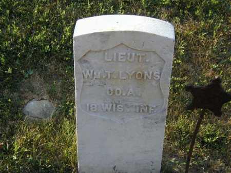 LYONS, WILLIAM T - Douglas County, Nebraska | WILLIAM T LYONS - Nebraska Gravestone Photos
