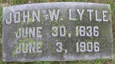 LYTLE, JOHN W. - Douglas County, Nebraska   JOHN W. LYTLE - Nebraska Gravestone Photos