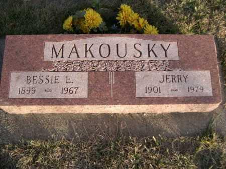 MAKOUSKY, JERRY - Douglas County, Nebraska | JERRY MAKOUSKY - Nebraska Gravestone Photos