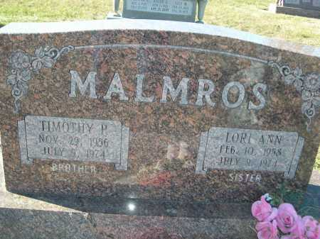 MALMROS, TIMOTHY P. - Douglas County, Nebraska | TIMOTHY P. MALMROS - Nebraska Gravestone Photos
