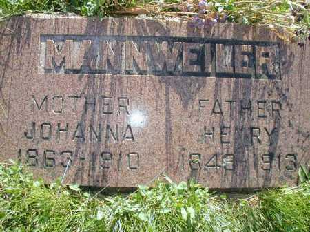 MANNWEILER, HENRY - Douglas County, Nebraska   HENRY MANNWEILER - Nebraska Gravestone Photos