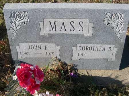 MASS, JOHN E. - Douglas County, Nebraska | JOHN E. MASS - Nebraska Gravestone Photos