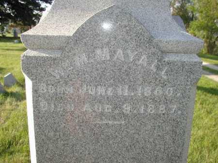 MAYALL, WILLIAM M - Douglas County, Nebraska | WILLIAM M MAYALL - Nebraska Gravestone Photos