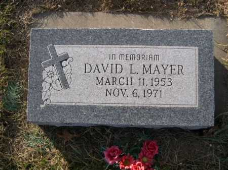 MAYER, DAVID L. - Douglas County, Nebraska | DAVID L. MAYER - Nebraska Gravestone Photos
