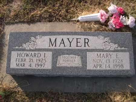 MAYER, HOWARD I. - Douglas County, Nebraska   HOWARD I. MAYER - Nebraska Gravestone Photos