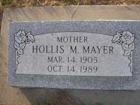 MAYER, HOLLIS M. - Douglas County, Nebraska | HOLLIS M. MAYER - Nebraska Gravestone Photos