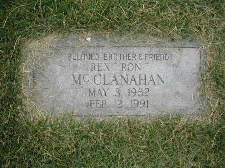 MC CLANAHAN, REX - Douglas County, Nebraska | REX MC CLANAHAN - Nebraska Gravestone Photos
