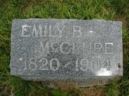 MC CLURE, EMILY B. - Douglas County, Nebraska   EMILY B. MC CLURE - Nebraska Gravestone Photos